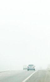 Neblina ou fumaça no caminho? Saiba o que fazer em situações de falta de visibilidade